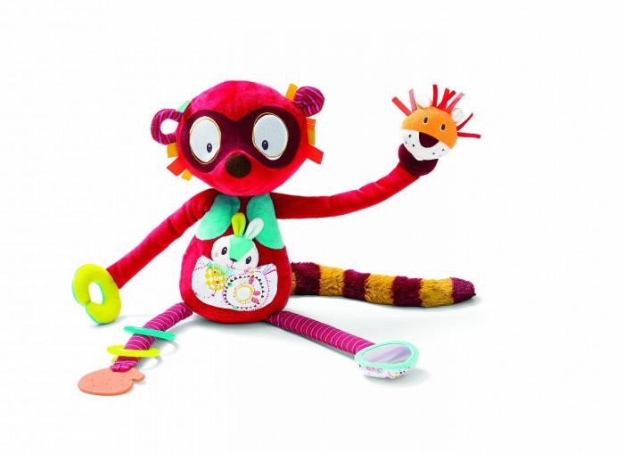 Купить Развивающие игрушки, Развивающая игрушка Lilliputiens Лемур Джордж 86777