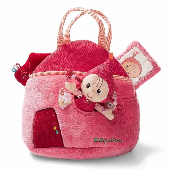 Lilliputiens Набор Красная шапочка кукла и аксессуары в сумочке