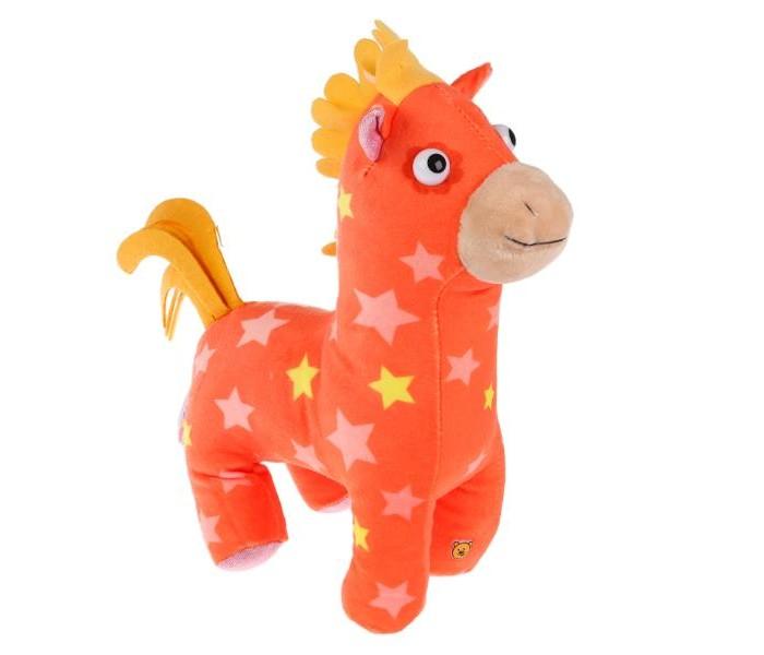 Картинка для Мягкая игрушка Мульти-пульти Деревяшки Лошадка Иго-го 20 см