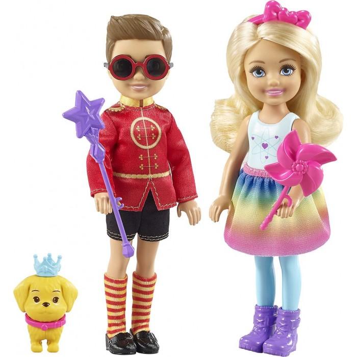 Куклы и одежда для кукол Barbie Набор Челси и Нотто куклы и одежда для кукол barbie игровой набор спортивная карьера