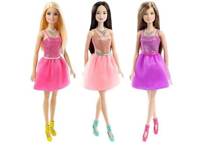 Купить Куклы и одежда для кукол, Barbie Кукла Сияние моды T7580