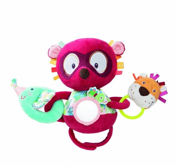 Купить Развивающие игрушки, Развивающая игрушка Lilliputiens Лемур Джордж на липучке