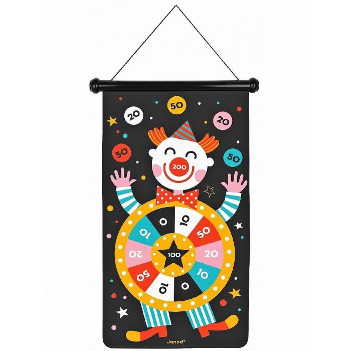 Спортивный инвентарь Janod Игра дартс Цирк магнитная