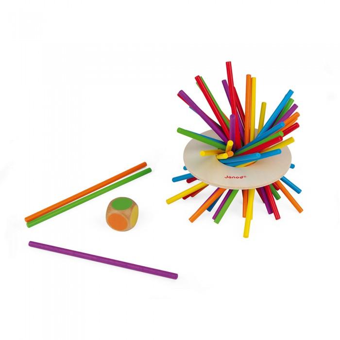 Купить Настольные игры, Janod Игра настольная микадо Цветные палочки
