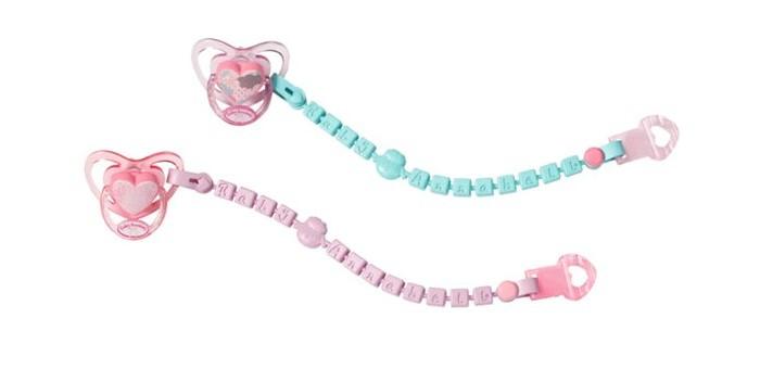 Купить Zapf Creation Соска с цепочкой для куклы Бэби Аннабель в интернет магазине. Цены, фото, описания, характеристики, отзывы, обзоры