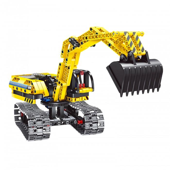 Купить Конструкторы, Конструктор Bondibon 2 в 1 Техника Экскаватор-робот (342 детали)