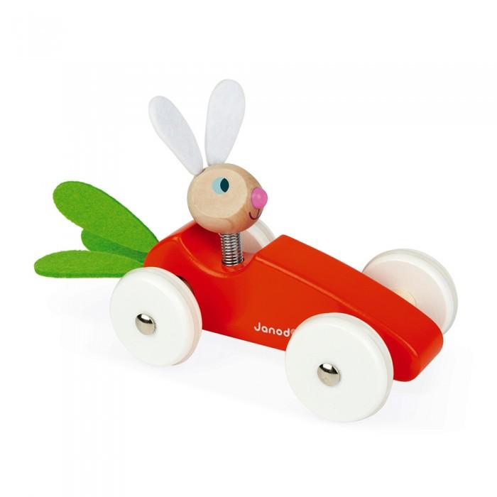 Машины Janod Каталка-машинка для малышей Кролик