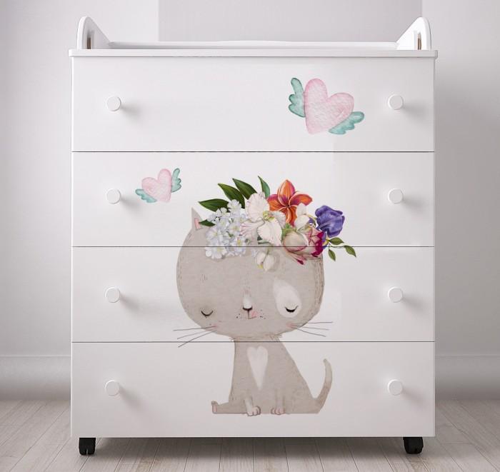 Комод Forest Cute Kitty пеленальный