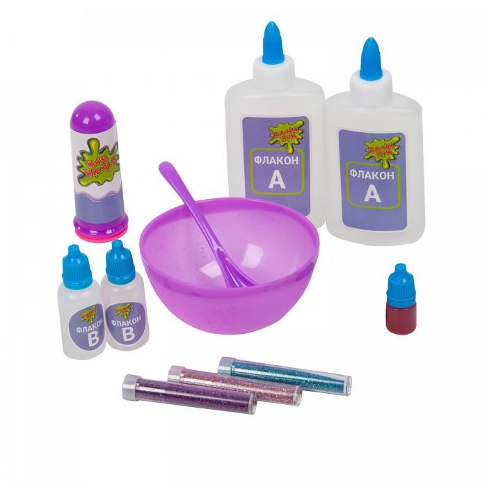Наборы для творчества Bondibon Набор для изготовления слайма Слайм Бум: Радужный слайм