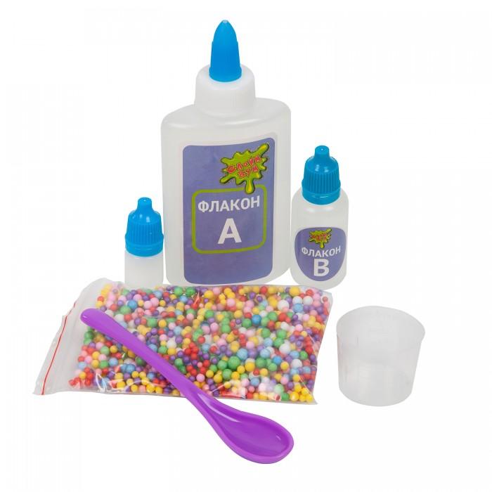 Наборы для творчества Bondibon Набор для изготовления слайма Слайм Бум: Слайм с шариками недорого
