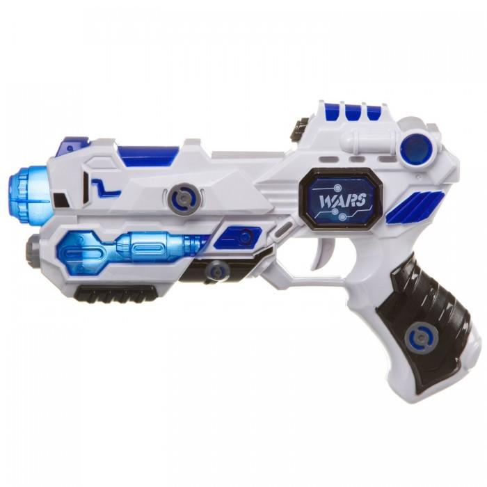 Купить Игрушечное оружие, Bondibon Пистолет Суперсила со светом и звуком
