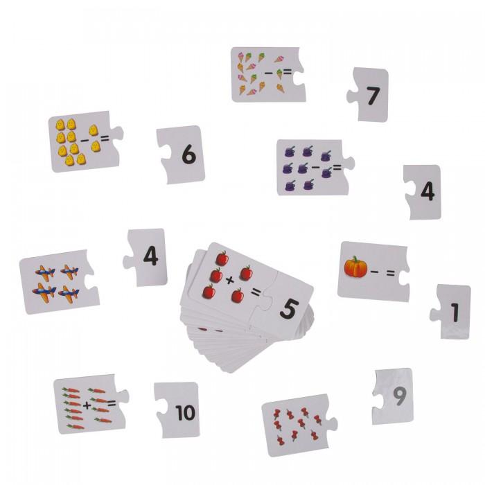Картинка для Раннее развитие Bondibon Обучающая игра-пазл Baby You Математика 60 карточек
