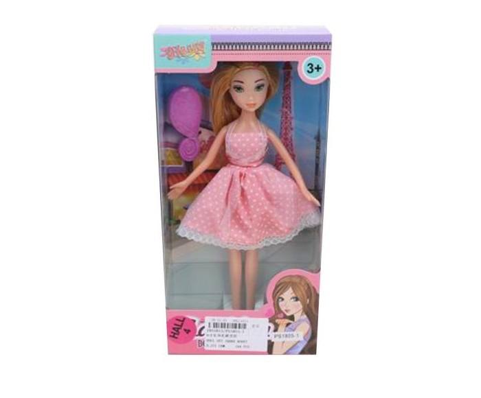 кукла наша игрушка карина в свадебном платье Куклы и одежда для кукол Наша Игрушка Кукла в розовом платье 23 см