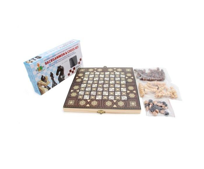 Купить Наша Игрушка Настольные игры 2 в 1 шахматы и шашки