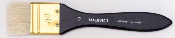 Купить Малевичъ Флейц из свиной щетины Henry № 40 в интернет магазине. Цены, фото, описания, характеристики, отзывы, обзоры