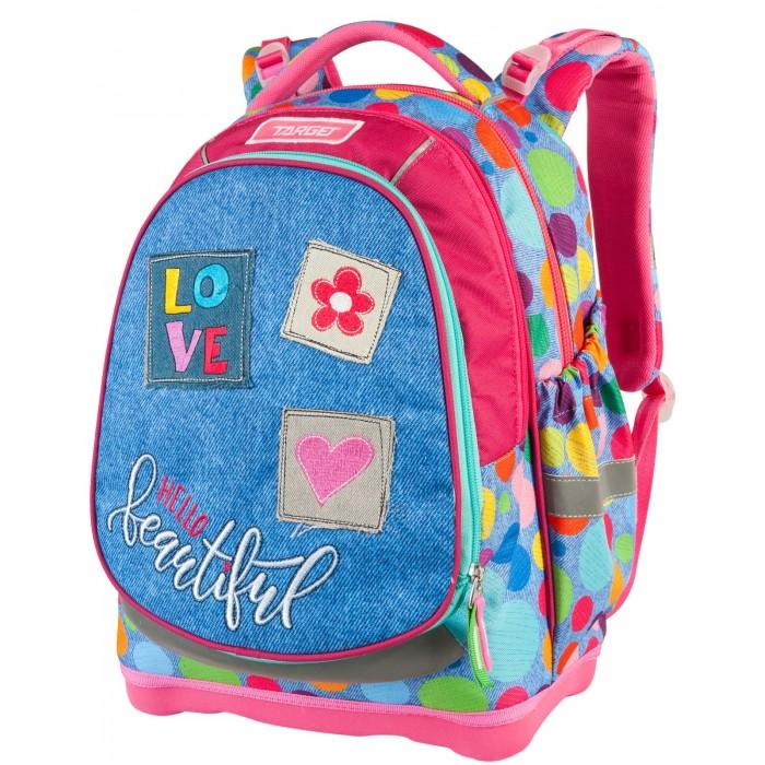 Купить Школьные рюкзаки, Target Collection Рюкзак супер лёгкий Hello Beautiful