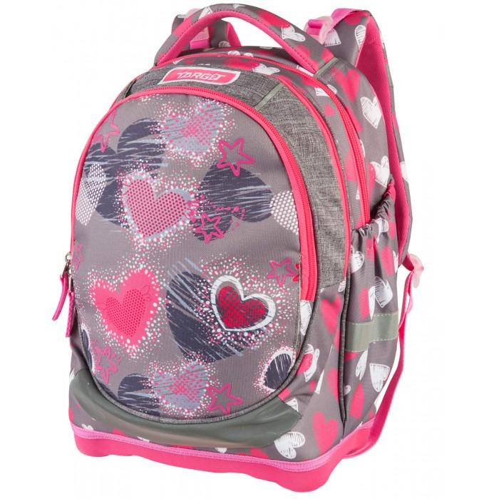 Фото - Школьные рюкзаки Target Collection Рюкзак супер лёгкий Grey Hearts школьные рюкзаки target collection рюкзак супер лёгкий смайлики