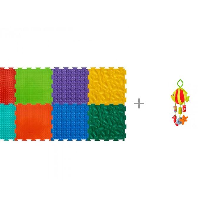 Картинка для Игровой коврик ОртоДон модульный Набор №2 Малыш и Подвесная игрушка Forest Подводный мир