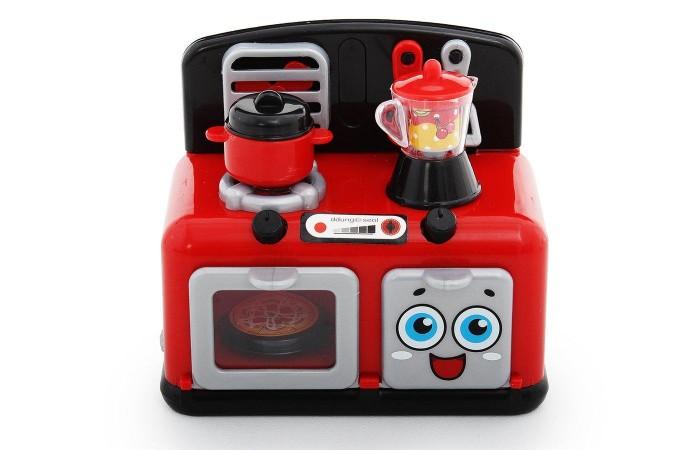 Ролевые игры Fudaer Игровой набор Бытовая техника Кухонная плита с аксессуарами