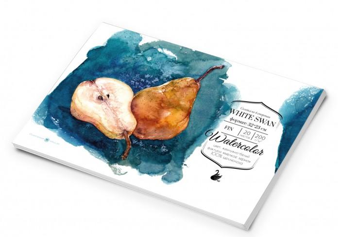 Купить Малевичъ Склейка для акварели White Swan Fin 32х23 см 20 л в интернет магазине. Цены, фото, описания, характеристики, отзывы, обзоры
