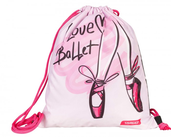 Мешки для обуви Target Collection Сумка детской сменной I love Ballet