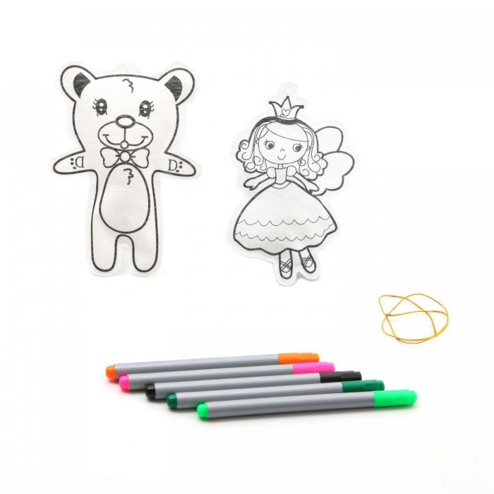 Фото - Наборы для творчества Bondibon Набор для творчества Ёлочные украшения Принцесса, мишка bondibon елочные украшения жираф лошадка разноцветный