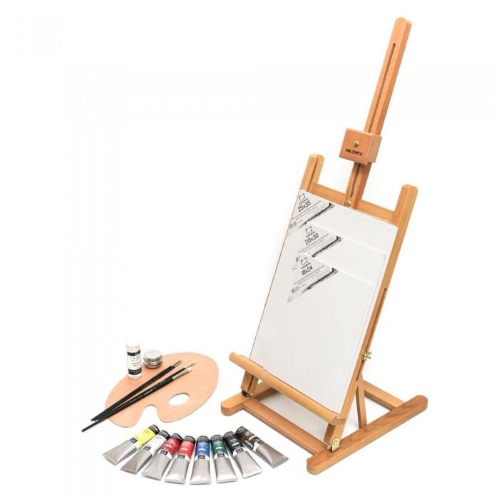 Купить Принадлежности для рисования, Малевичъ Стартовый набор для живописи маслом МЛ-57