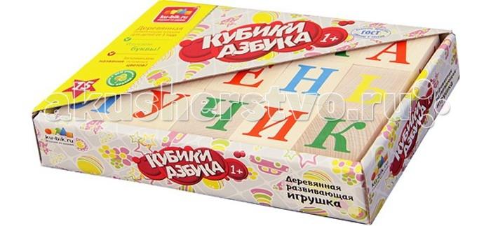 Деревянные игрушки Alatoys Кубики Азбука неокрашенные 15 шт. деревянные игрушки теремок кубики веселый счет 15 шт