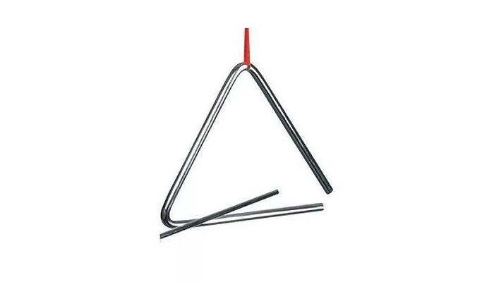 Музыкальные инструменты, Музыкальный инструмент Goki Треугольник перкуссия 10 см  - купить со скидкой