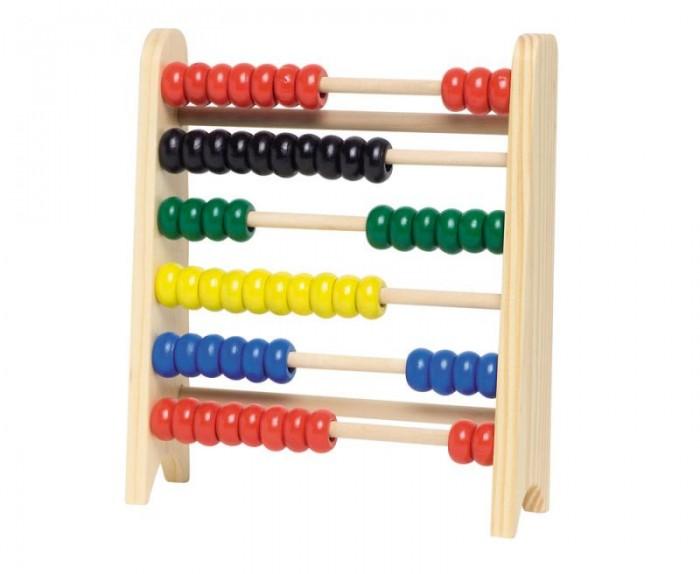 Купить Деревянные игрушки, Деревянная игрушка Goki Счёты (60) 18 см WM324