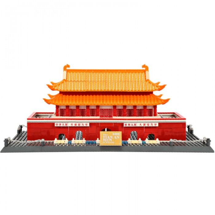 Wange Шедевры мировой архитектуры Врата Небесного Спокойствия (758 элементов)