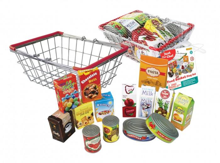 Ролевые игры Champion Игровой набор Маленький шеф-повар Корзина с продуктами