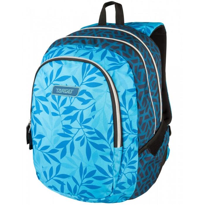 Купить Школьные рюкзаки, Target Collection Рюкзак 3 zip Ocean leaves