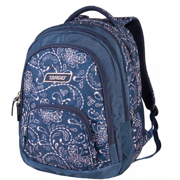 Школьные рюкзаки, Target Collection Рюкзак 2 в 1 Jeans butterfly  - купить со скидкой