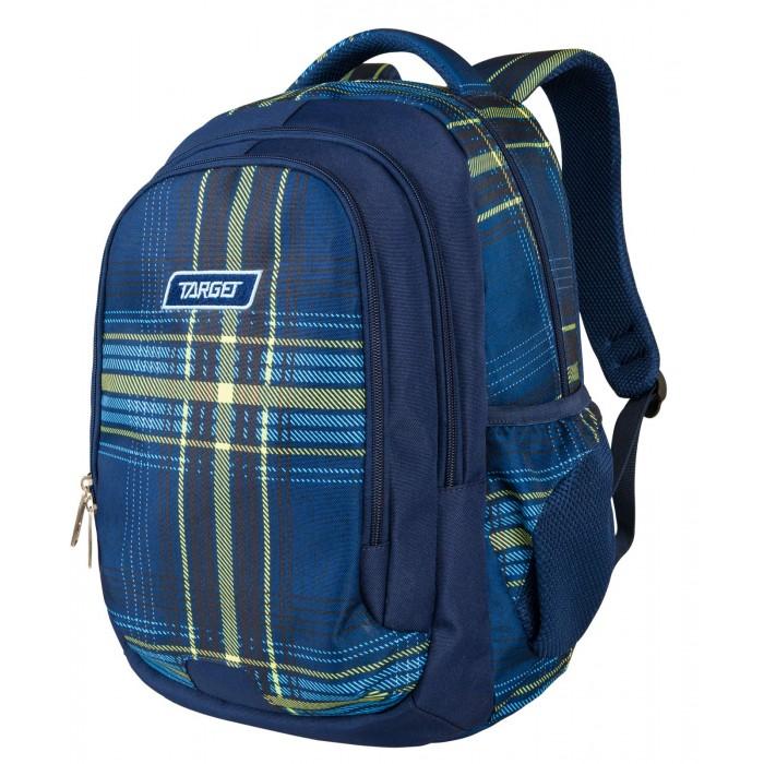 Купить Школьные рюкзаки, Target Collection Рюкзак Grid blue/green