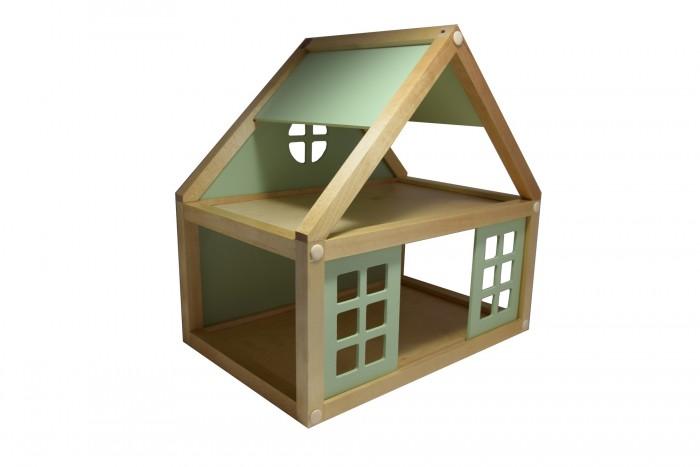 Деревянные игрушки Мишка Кострома Набор для конструирования Кукольный домик ДК-002