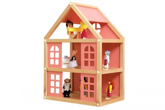 Деревянные игрушки Мишка Кострома Набор для конструирования Кукольный домик ДК-001