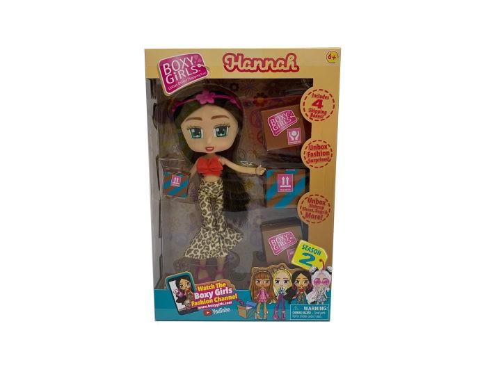 1 Toy Кукла Boxy Girls Hannah с аксессуарами 20 см