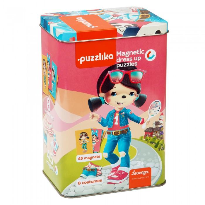 Картинка для Пазлы Puzzlika Магнитные пазлы-игра Куклы 20 деталей