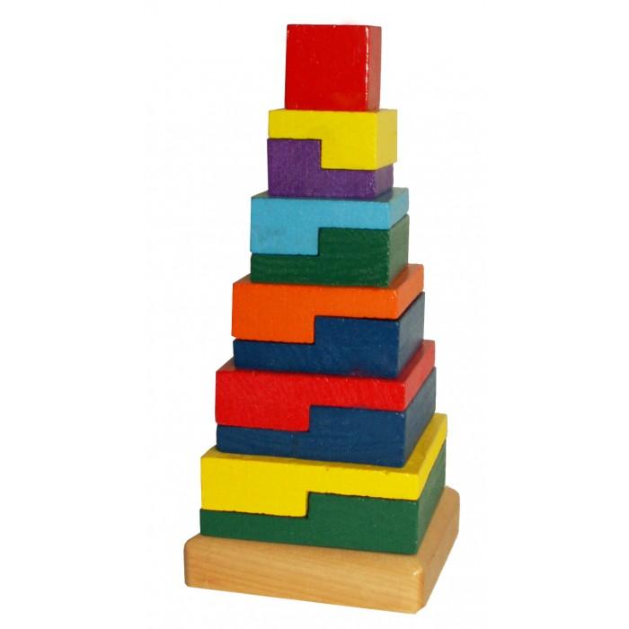 Фото - Деревянные игрушки РИД Пирамида Квадраты А-015 комод пирамида к 6