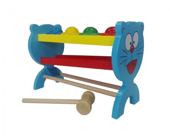 Фото - Деревянные игрушки РИД Стучалка Кот А-013 джексон рид города мира