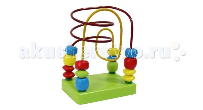 Деревянные игрушки Alatoys Лабиринт Салатовый деревянные игрушки alatoys пазлы лошадки
