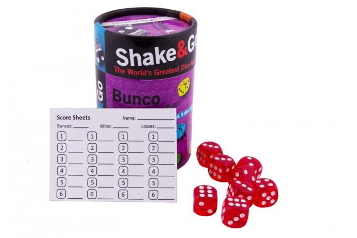 The Purple Cow Настольная игра в кости Бунко.