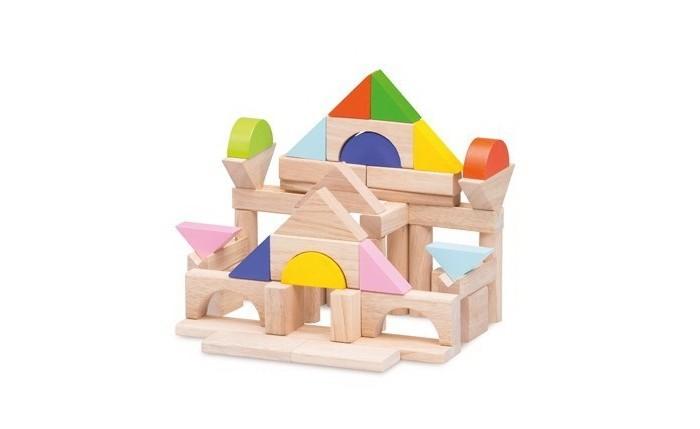 Деревянные игрушки Wonderworld Набор цветных кубиков 50 шт.