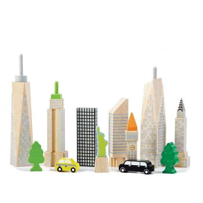 Конструкторы Wonderworld Светящиеся блоки Городские небоскребы