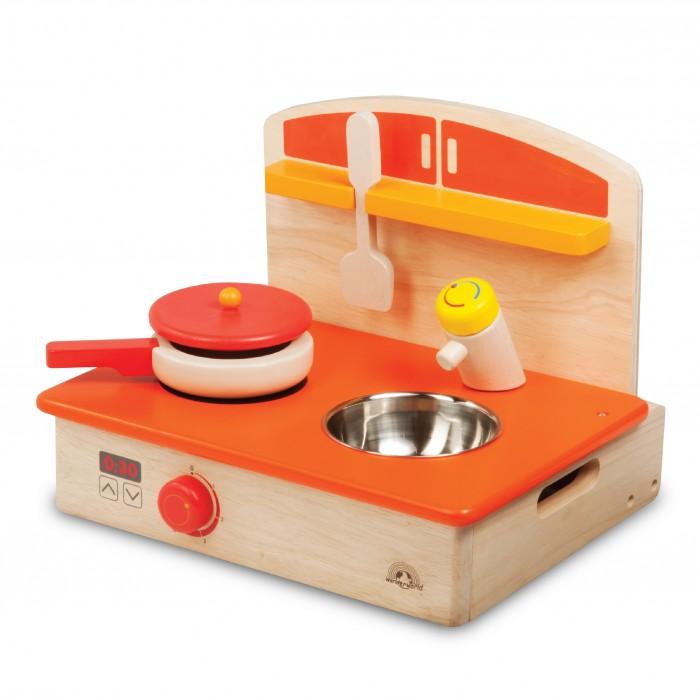 Купить Деревянные игрушки, Деревянная игрушка Wonderworld Игровой набор Мобильная кухня с аксессуарами