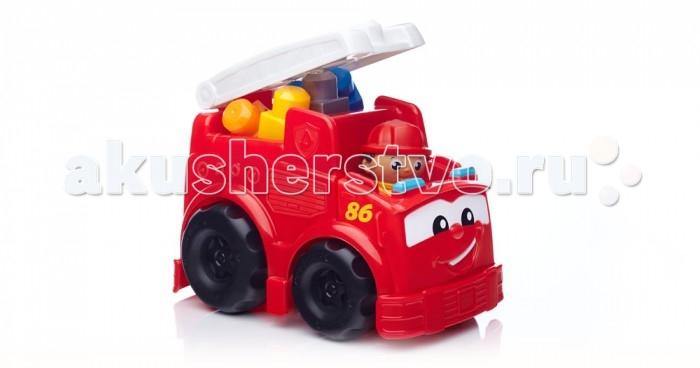Mega Bloks Mattel First Builders Пожарная машина Фредди