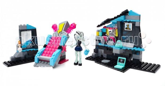 Конструкторы Mega Bloks Mattel Monster High Комната Фрэнки Штейн (147 деталей)