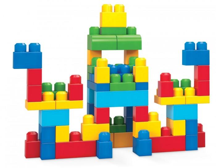 Конструкторы Mega Bloks Mattel First Builders Набор классический (60 деталей) mattel first builders