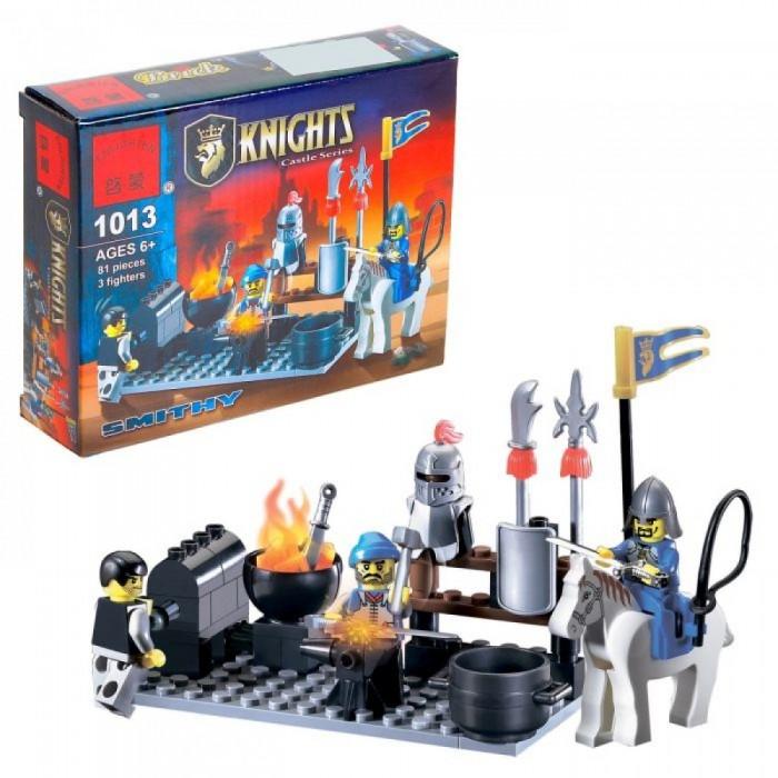 Купить Enlighten Brick Рыцари Кузница (81 деталь) в интернет магазине. Цены, фото, описания, характеристики, отзывы, обзоры